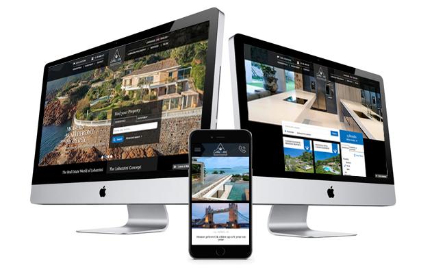Vastgoed webdesign